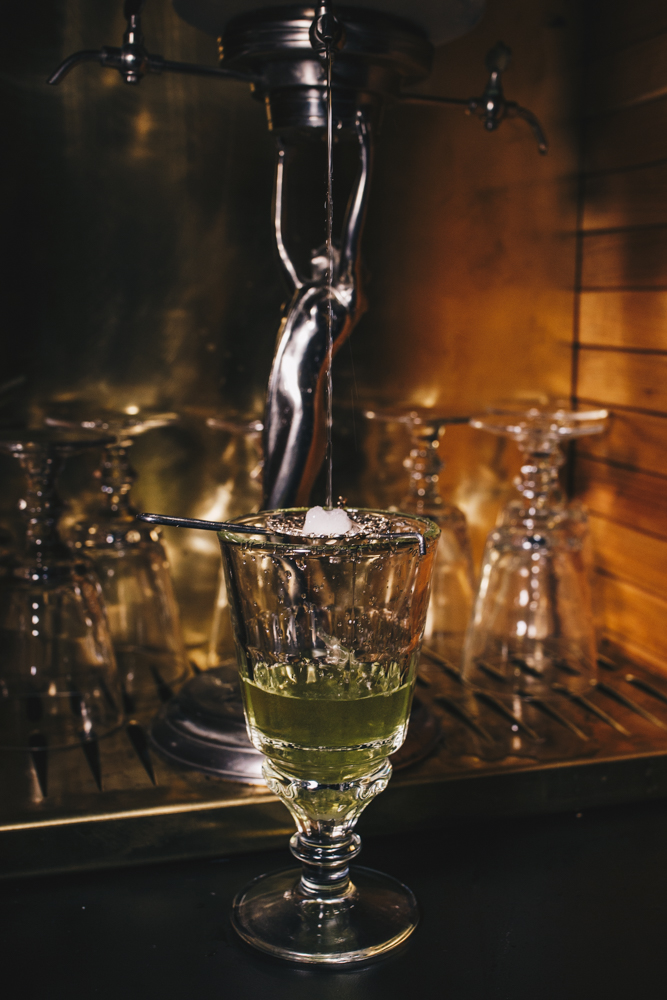 Absinthe, served every Wednesday from 8-11 PM / Image: Catherine Viox // Published: 1.25.19