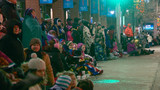 People bundle up for Appleton Christmas Parade