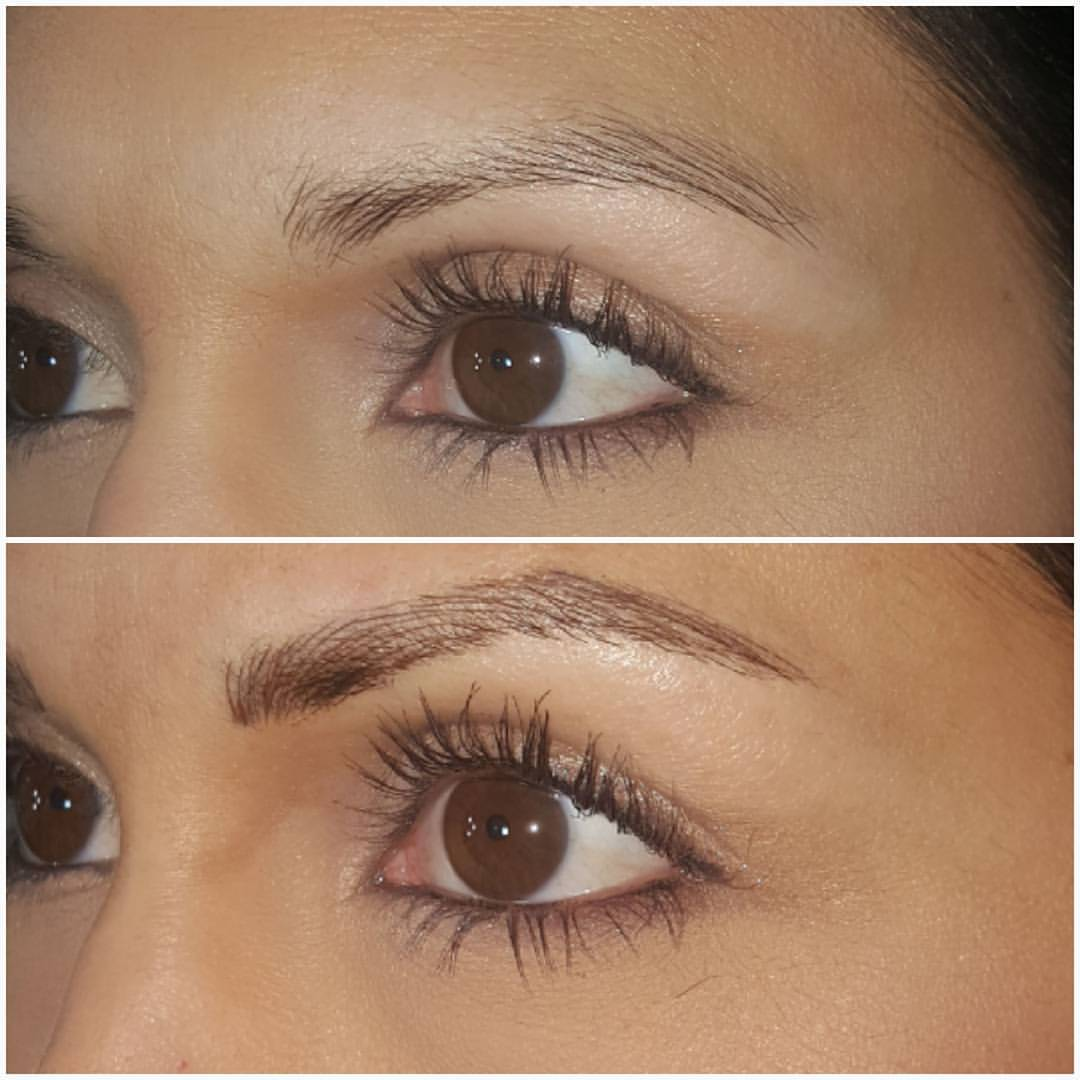 Seriously the best thing to happen since Rosé in a juice box. You'll never have to draw in your brows again. Just look at this before and after pic. I'm so getting this done at Seattle Microblading Studio. It's pricey, costing around $450 including the touch up, but worth it considering it lasts as long as a year. No more eye-brow pencil! (Image: Seattle Microblading Studio Facebook)