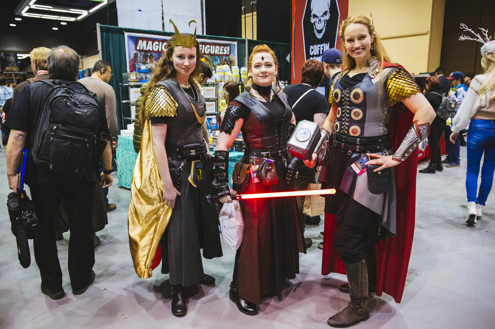 <p>Emerald City Comic Con is the largest comic book and pop culture convention in the Pacific Northwest. Thousands come to the Washington State Convention Center in Seattle for 4 days of cosplay, comic books, celebrities, panels and more. This year, they're expecting upwards of 95,000 people! Today, (March 14, 2019) is the first day of the convention. (Image: Sunita Martini / Seattle Refined)</p>