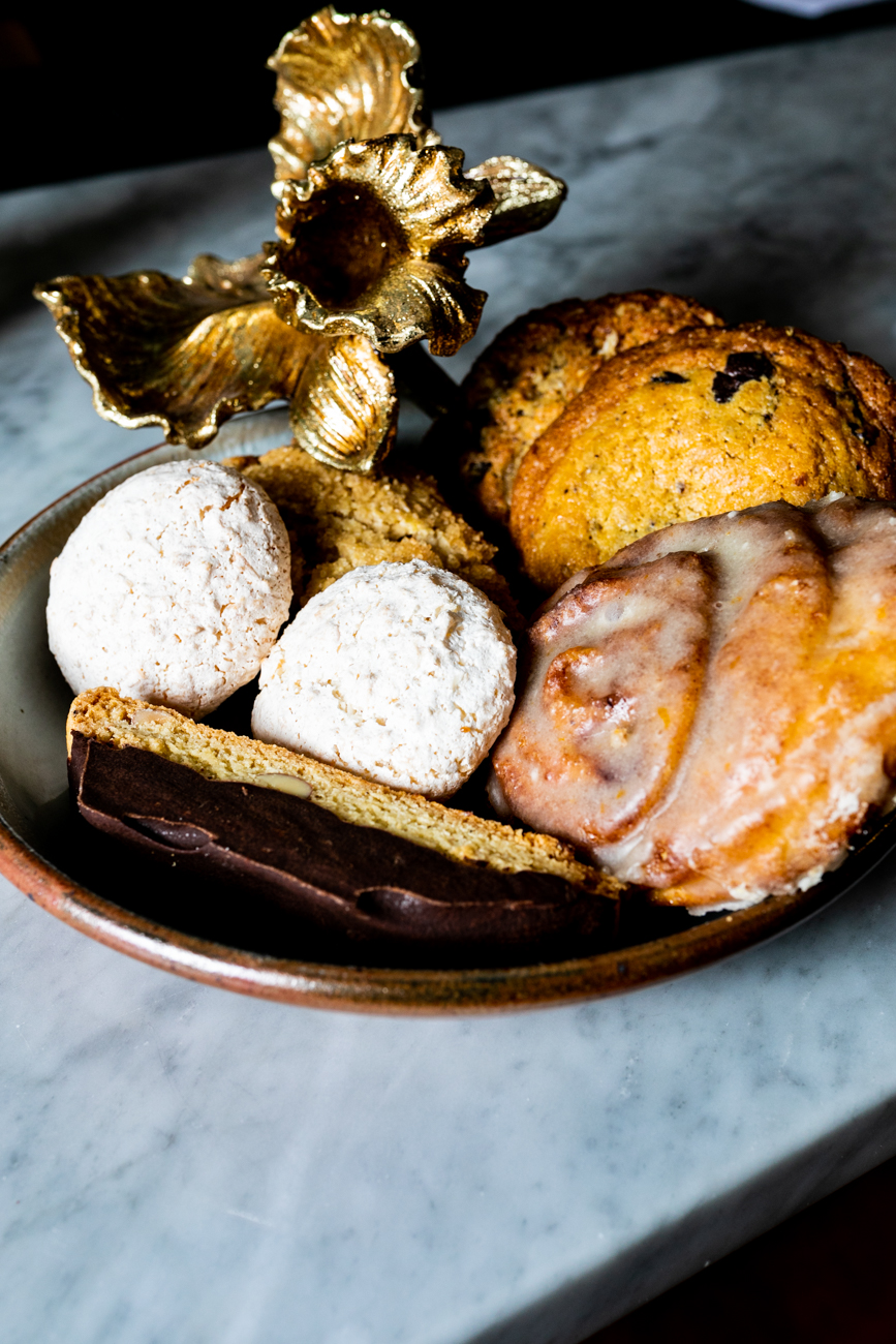 An array of locally-made pastries and cookies are available daily. / Image: Amy Elisabeth Spasoff // Published: 3.14.19