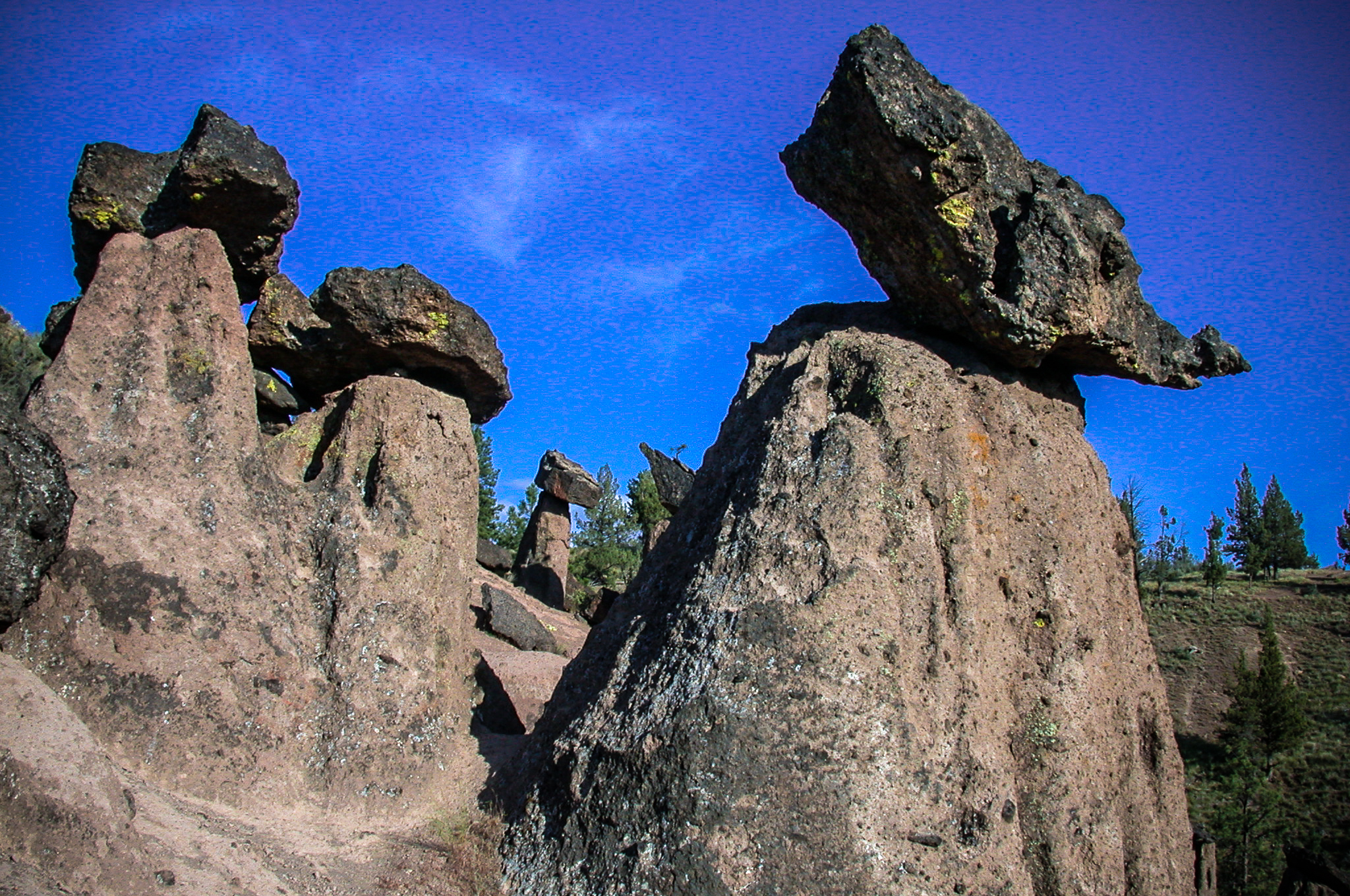 Balanced Rocks on the Deschutes National Forest (USDA Forest Service)