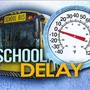 School delays, closures due to winter weather