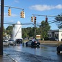 Crash creates geyser in Warwick
