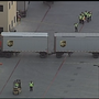Truck driver killed after becoming pinned under double trailer at UPS facility