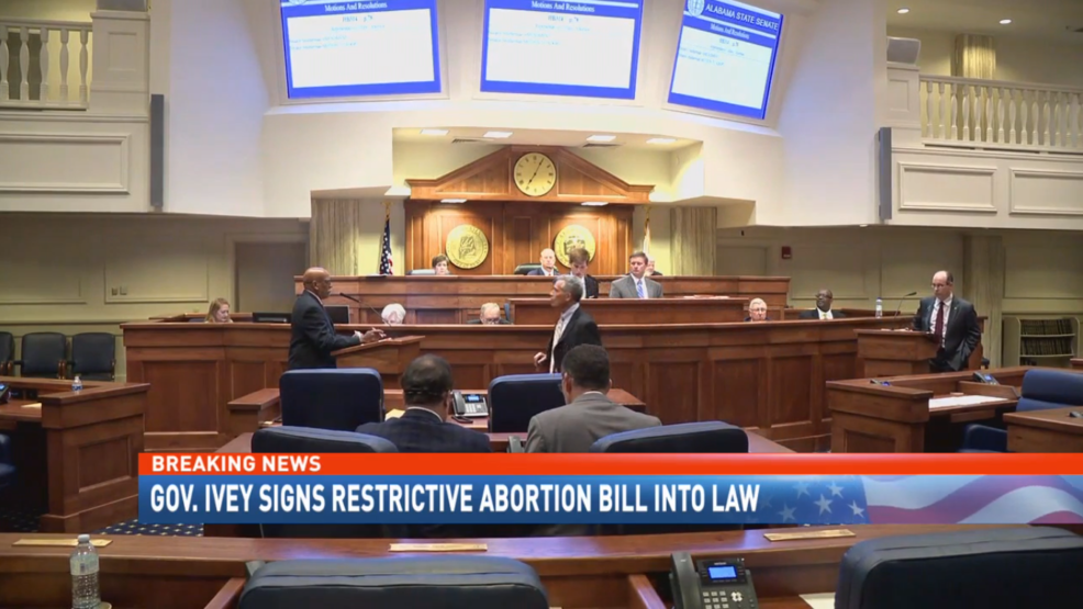 (IMG: WPMI) Alabama Attorney General prepares to defend most restrictive abortion ban in the country