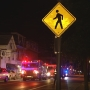 Pedestrian struck by a car overnight in East Greenwich