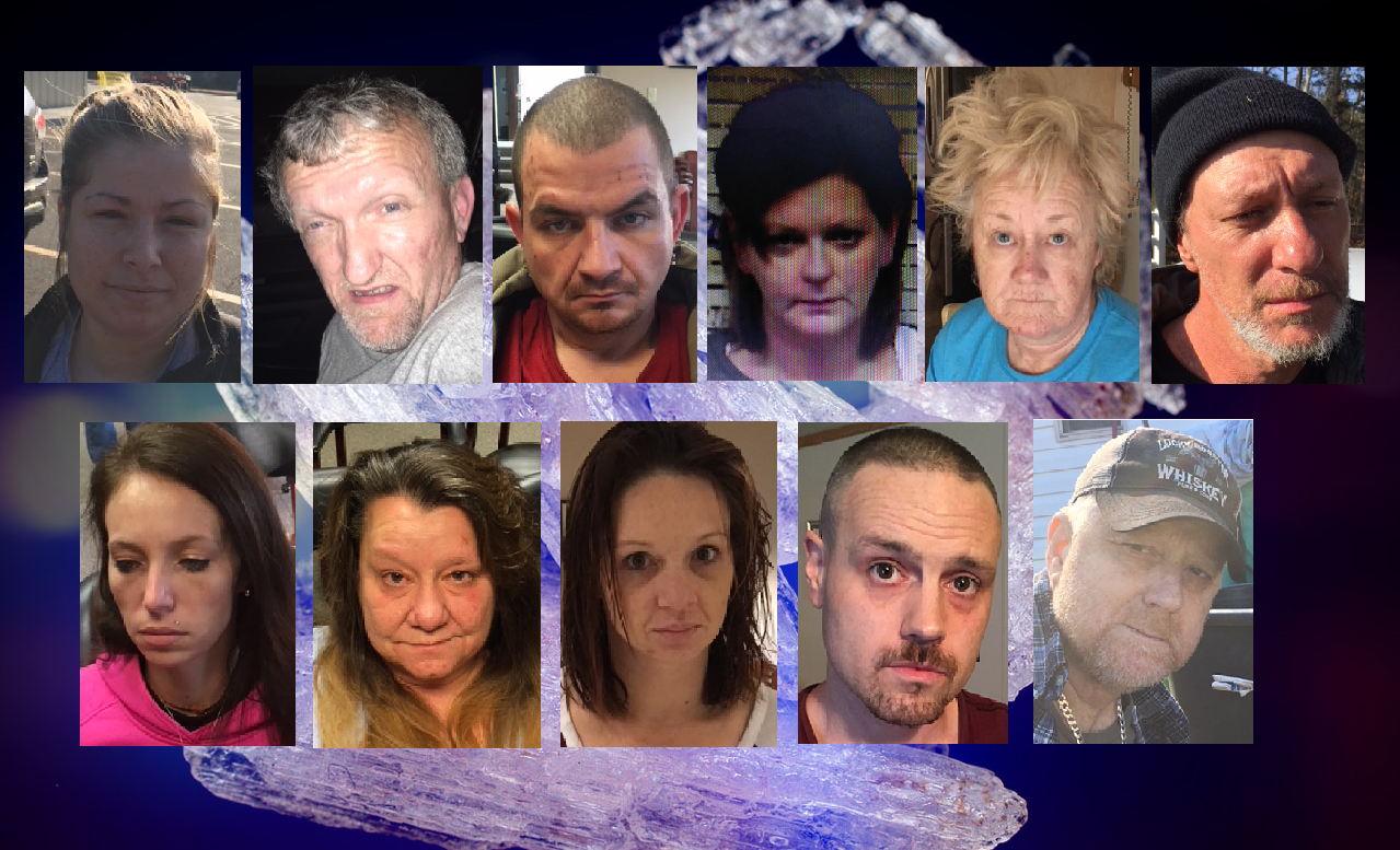 Eleven of the nineteen people charged have been arrested as of Friday, when authorities performed an extensive roundup. (Images: TBI, MGN)<p></p>
