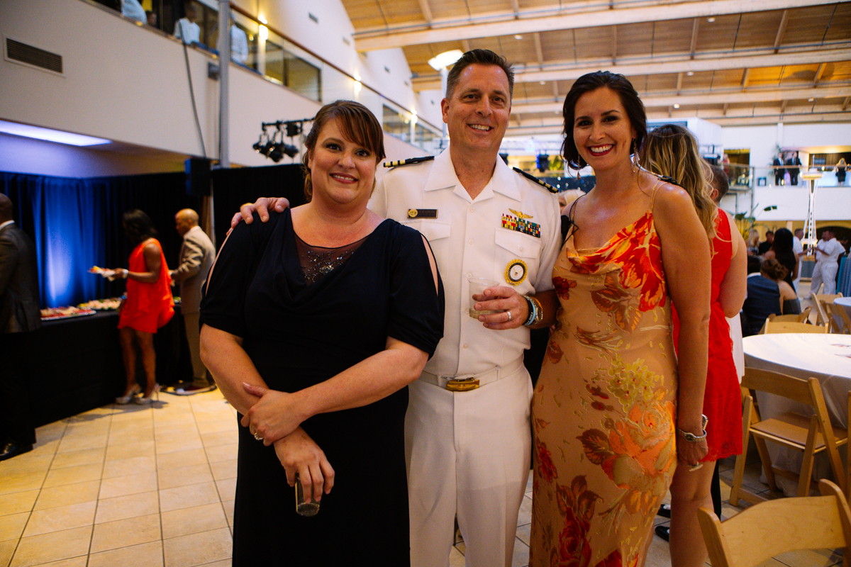 We told you about the 2014 Seafair Ball earlier in the week, and their partnership with USO Northwest in efforts to raise money for a new service center at Seatac. The turnout Friday night at the Seattle Design Center was amazing - with men and women in uniform mingling with ladies in ball gowns and men in tuxedos, live music, and of course a dance floor. (Image: Joshua Lewis / Seattle Refined)
