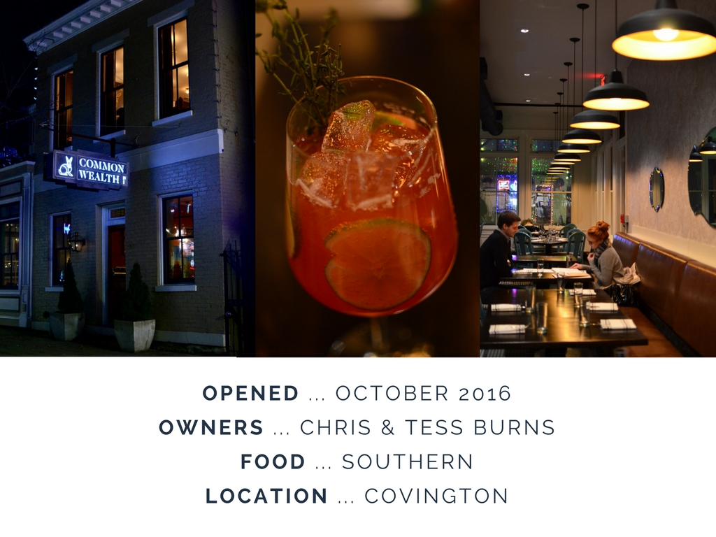 Commonwealth Bistro is located at 621 Main St., Covington, KY 41011. / Image: Leah Zipperstein, Cincinnati Refined / Published: 1.29.17