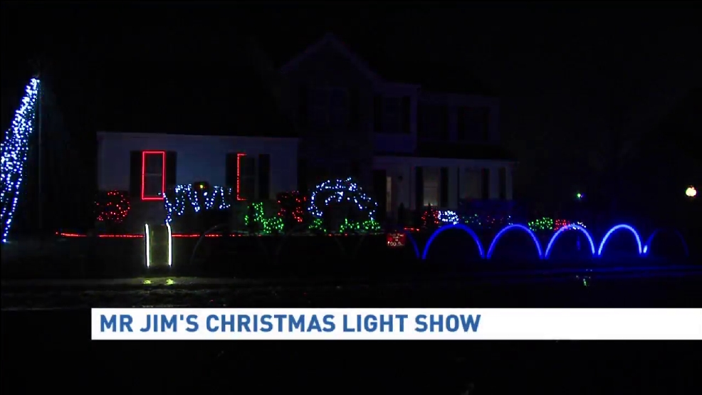 Mr. Jim\'s Christmas light show donates to Catie\'s Wish Foundation | WHP
