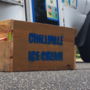 Ice cream truck collects food pantry donations throughout its commute
