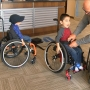 Ready? Set. Roll! Wheelchair donation changes the lives of two Pasco boys with SMA