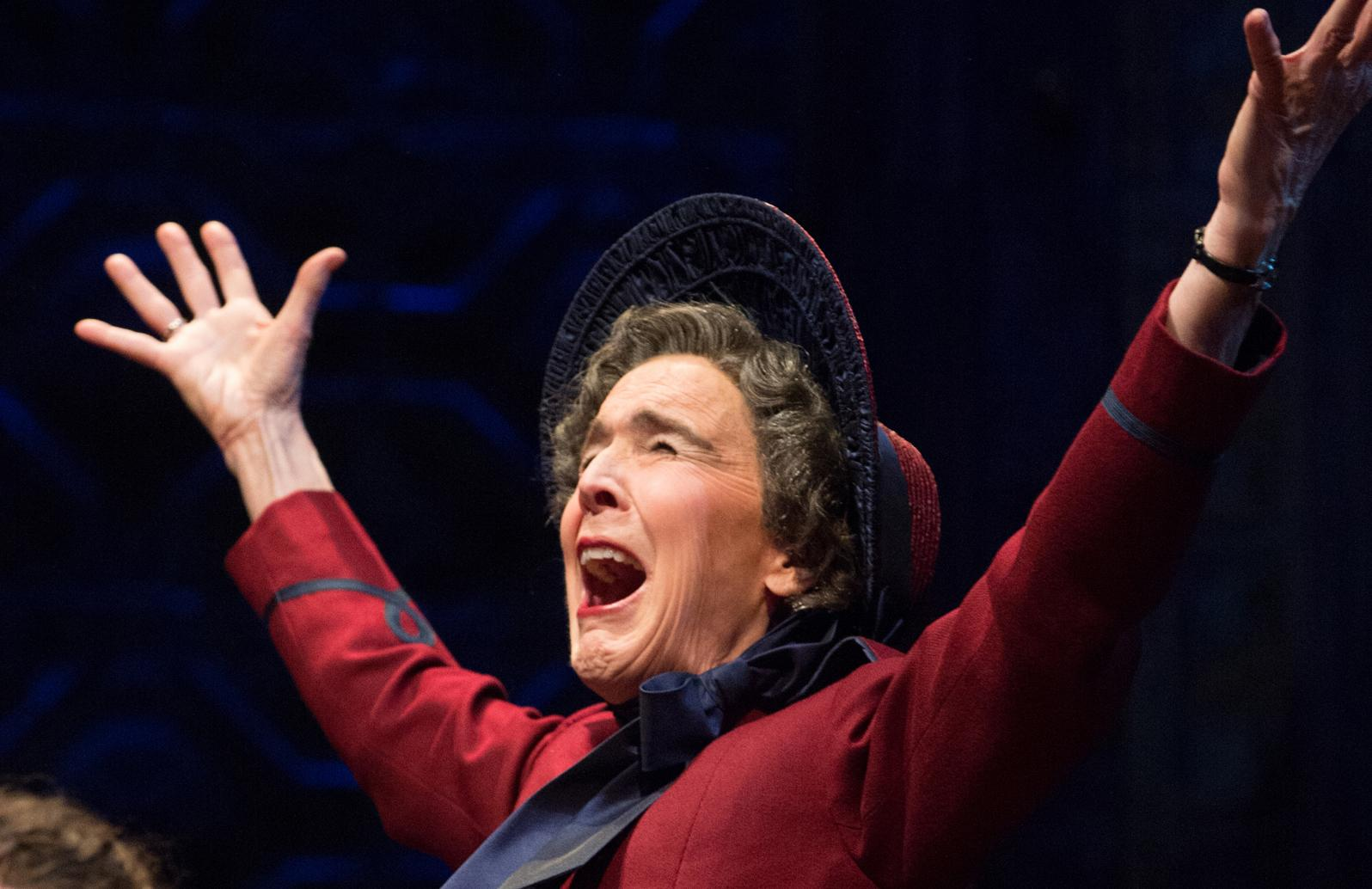 "Photo by Jenny Graham / The Oregon Shakespeare FestivalCatherine Coulson in ""Guys and Dolls"" at Oregon Shakespeare Festival in 2015."