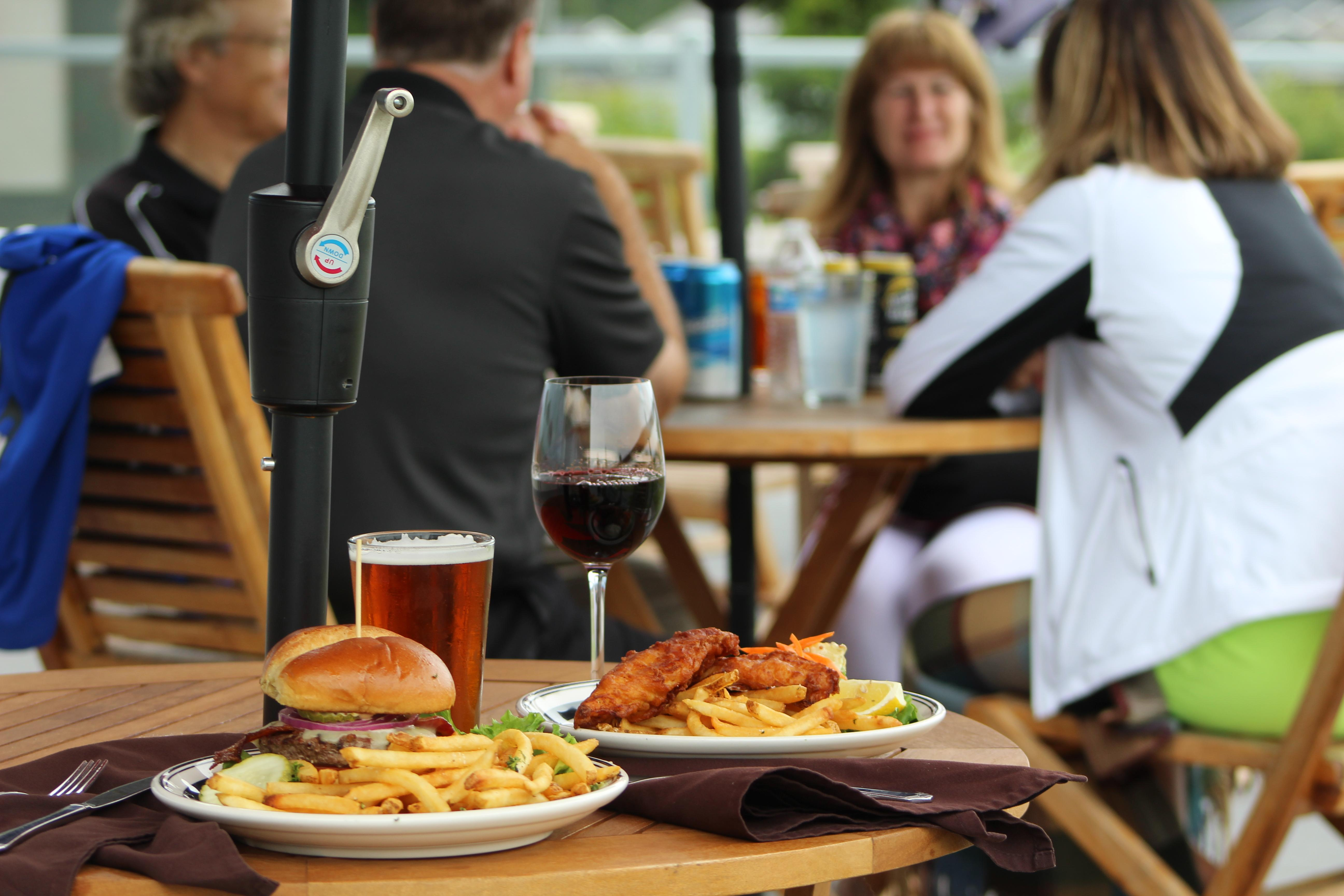 Semiahmoo features a range of dining options at three different restaurants onsite.