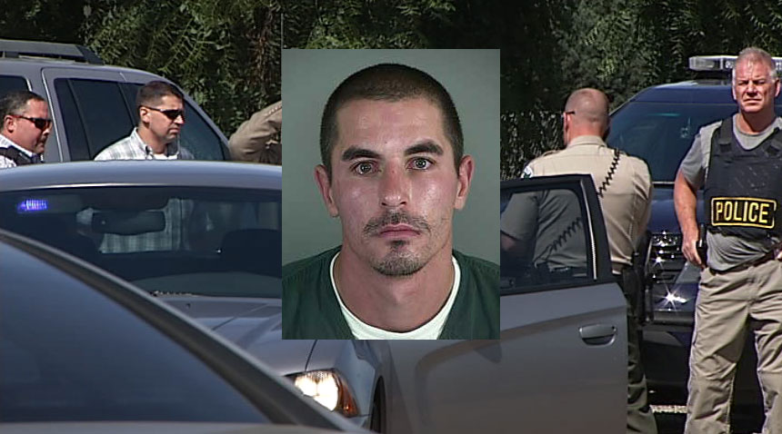 Deputies arrested Edward Paul Dungan, 30, on charges of Attempted Aggravated Murder, Unlawful Use of a Weapon, and Unauthorized Use of a Motor Vehicle. (SBG; Lane County Jail)