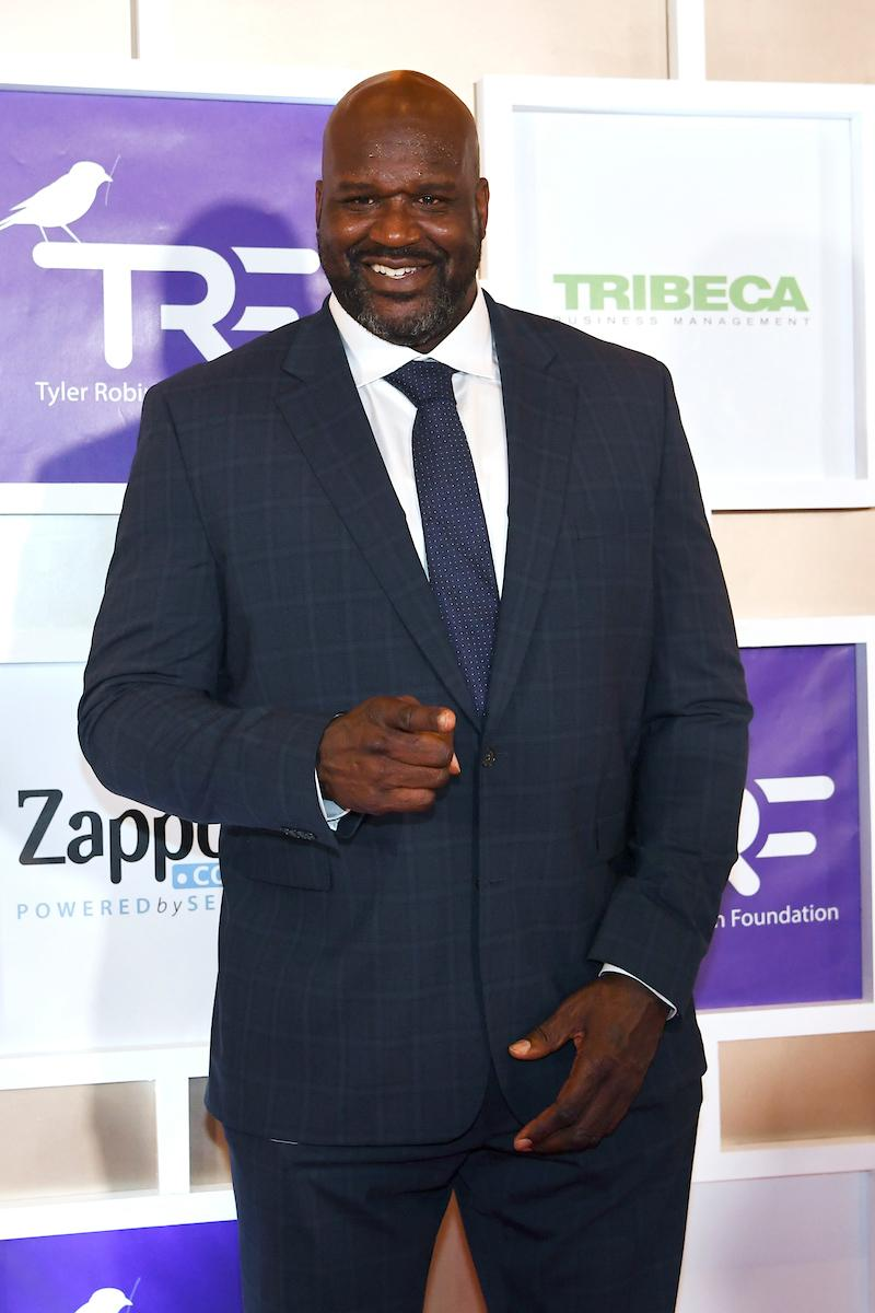 Shaquille O'Neal appears on the red carpet for the Rise Up Gala, and event created to raise funds for the Tyler Robinson Foundation, Friday, September 6, 2019, at the Wynn. (Sam Morris/Las Vegas News Bureau)