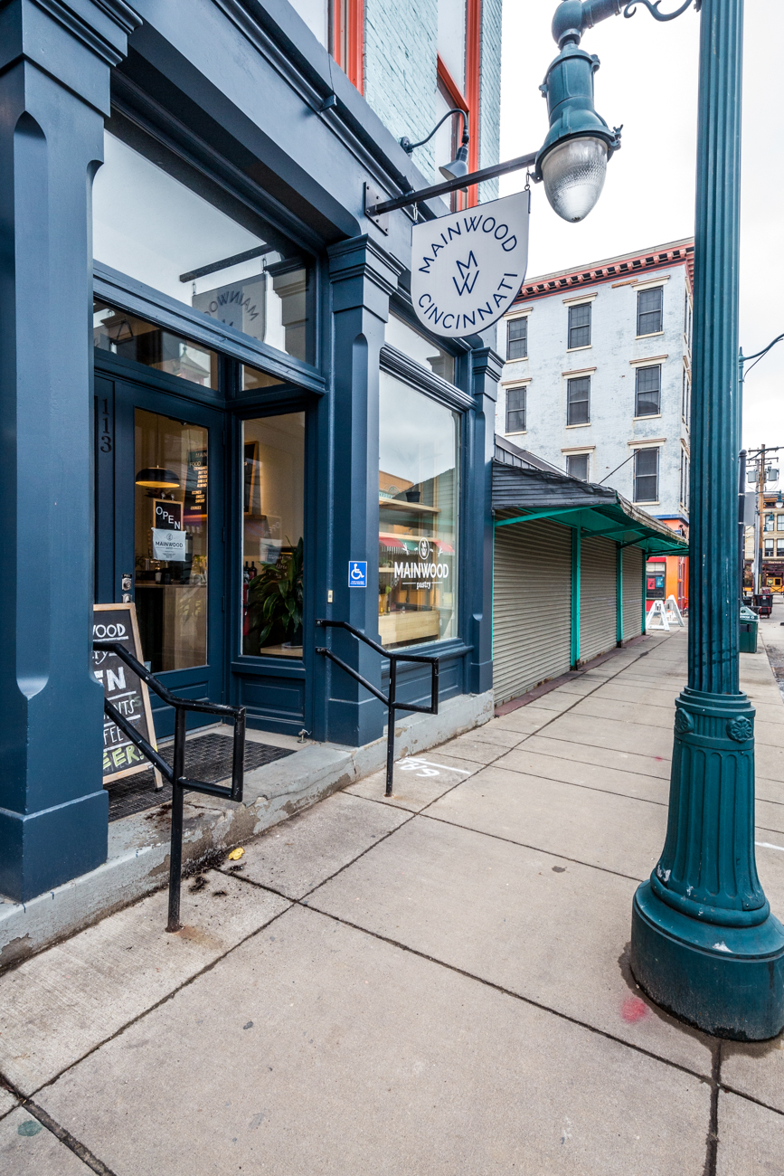 PLACE: Mainwood Pastry / ADDRESS: 113 W Elder Street (Over-the-Rhine) / Located in Findlay Market, Mainwood Pastry has an excellent dine-in space and some of the best croissants around town. / Image: Catherine Viox // Published: 1.4.20