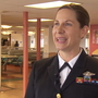 Navy nurse midwife honored for saving passenger's life aboard ferry
