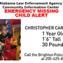 Missing Child Alert: 1-year-old Brighton boy may be with biological father