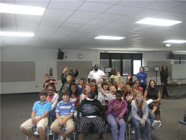 9/28/10...Alice Drive Middle School Sixth Graders