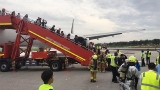 Boeing 777 jetliner catches fire in Singapore, but all passengers safe