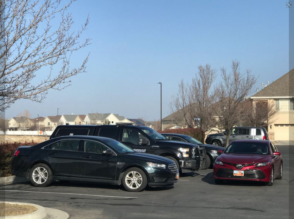 Possible child abduction in West Jordan. (Photo: Jeremy Harris)