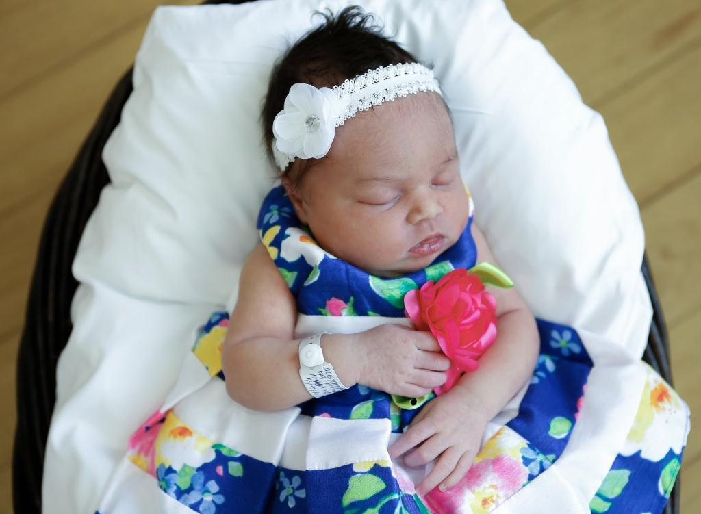Ilyssa, our Baby of the Day for April 21, 2016. Photo courtesy of Palms West Hospital and Bella Baby Photography
