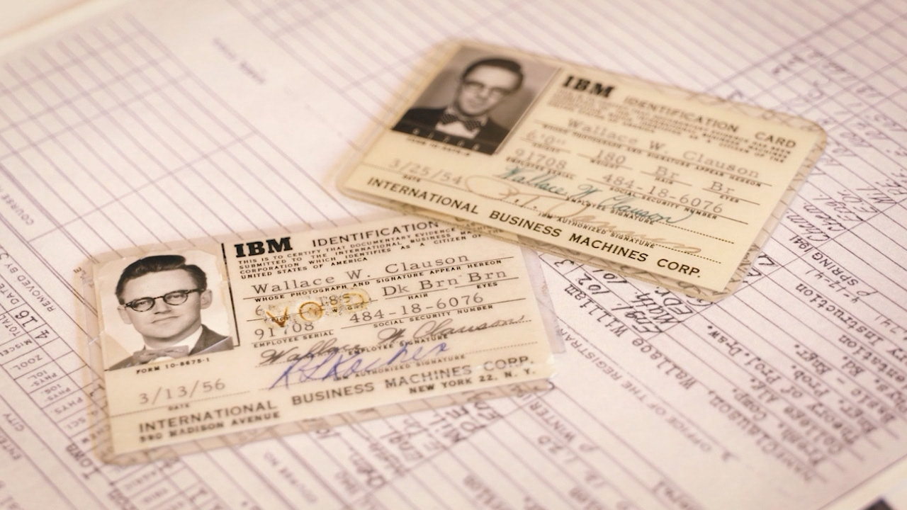 Wallace Clauson ID cards