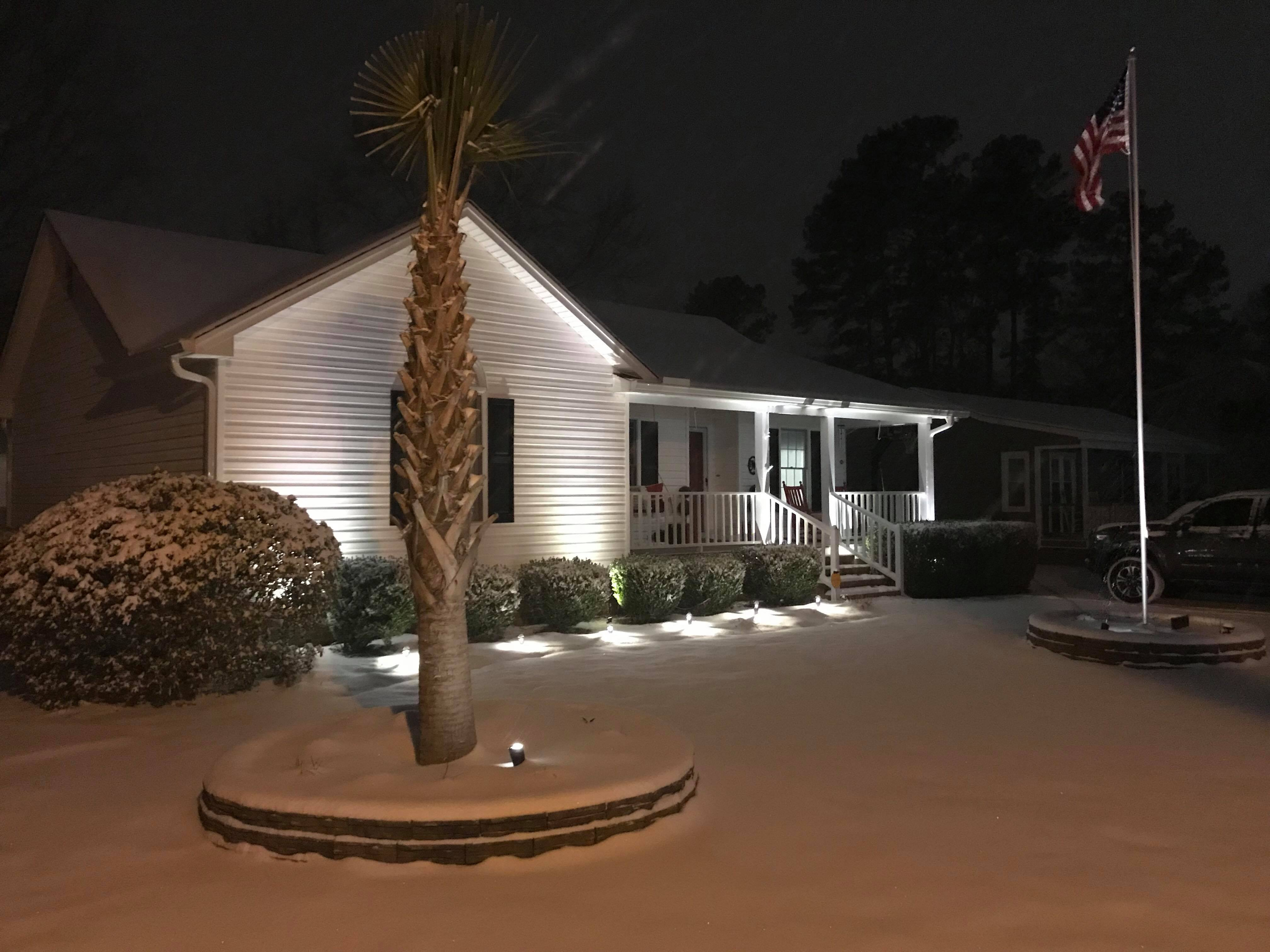 A snowy house in Florence (Submitted by Barry McElhannon)
