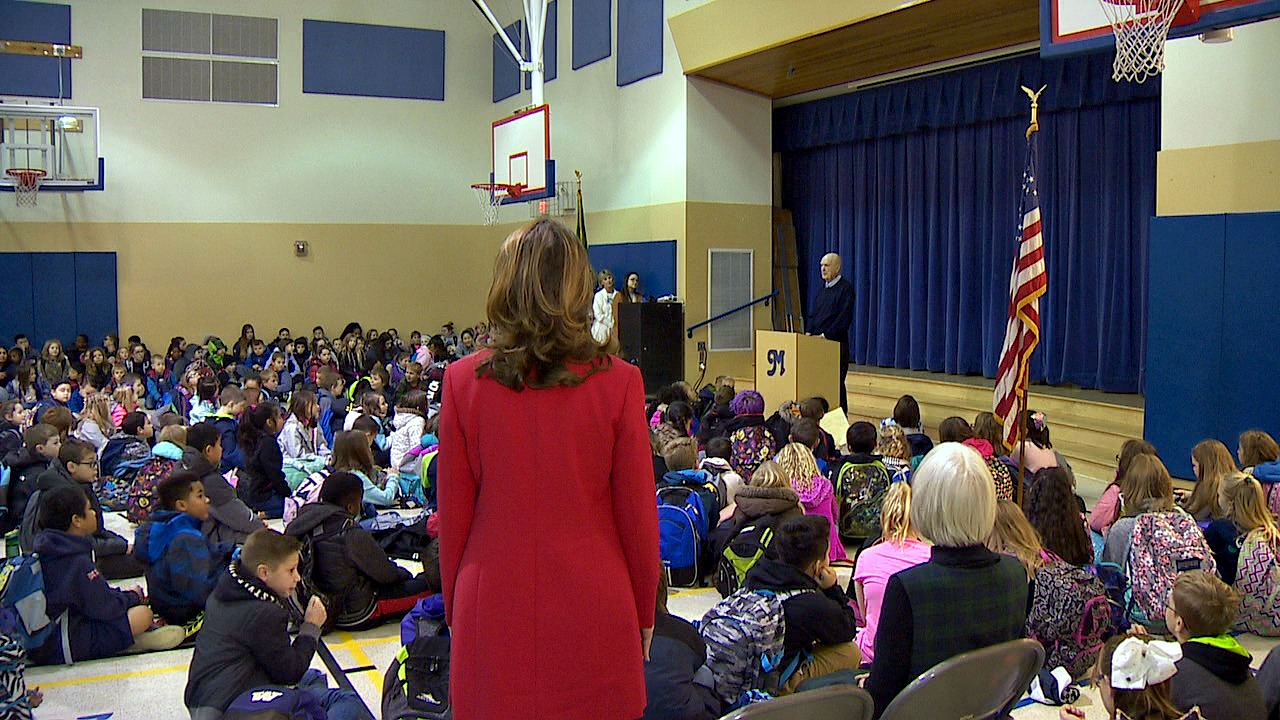 Kim Zeiger at Meeker. (Photo: KOMO News)<p></p>