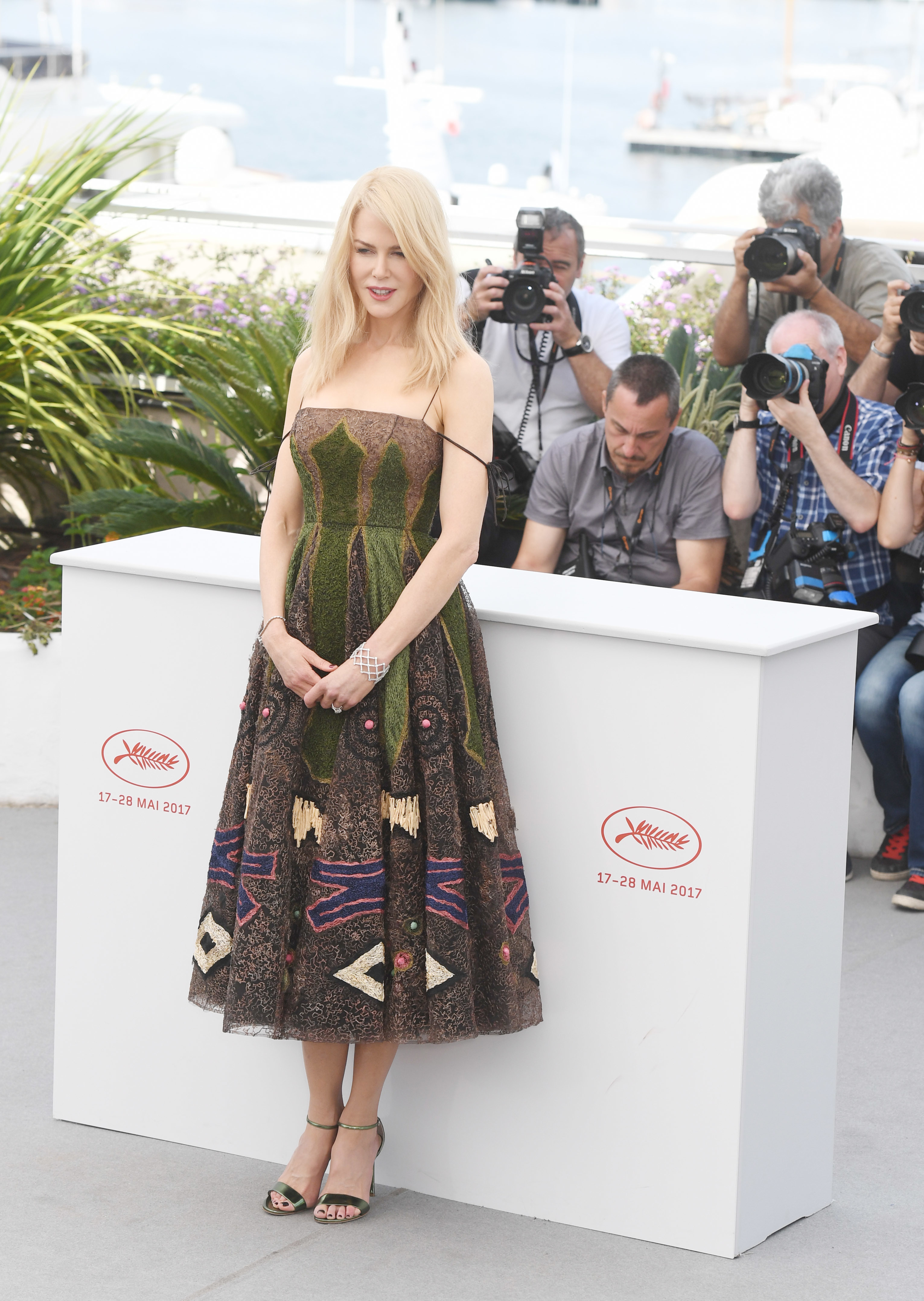 Nicole Kidman attending the photocall for 'The Killing of a Sacred Deer' during the 70th annual Cannes Film Festival at Palais des Festivals in Cannes, France. (WENN.com)