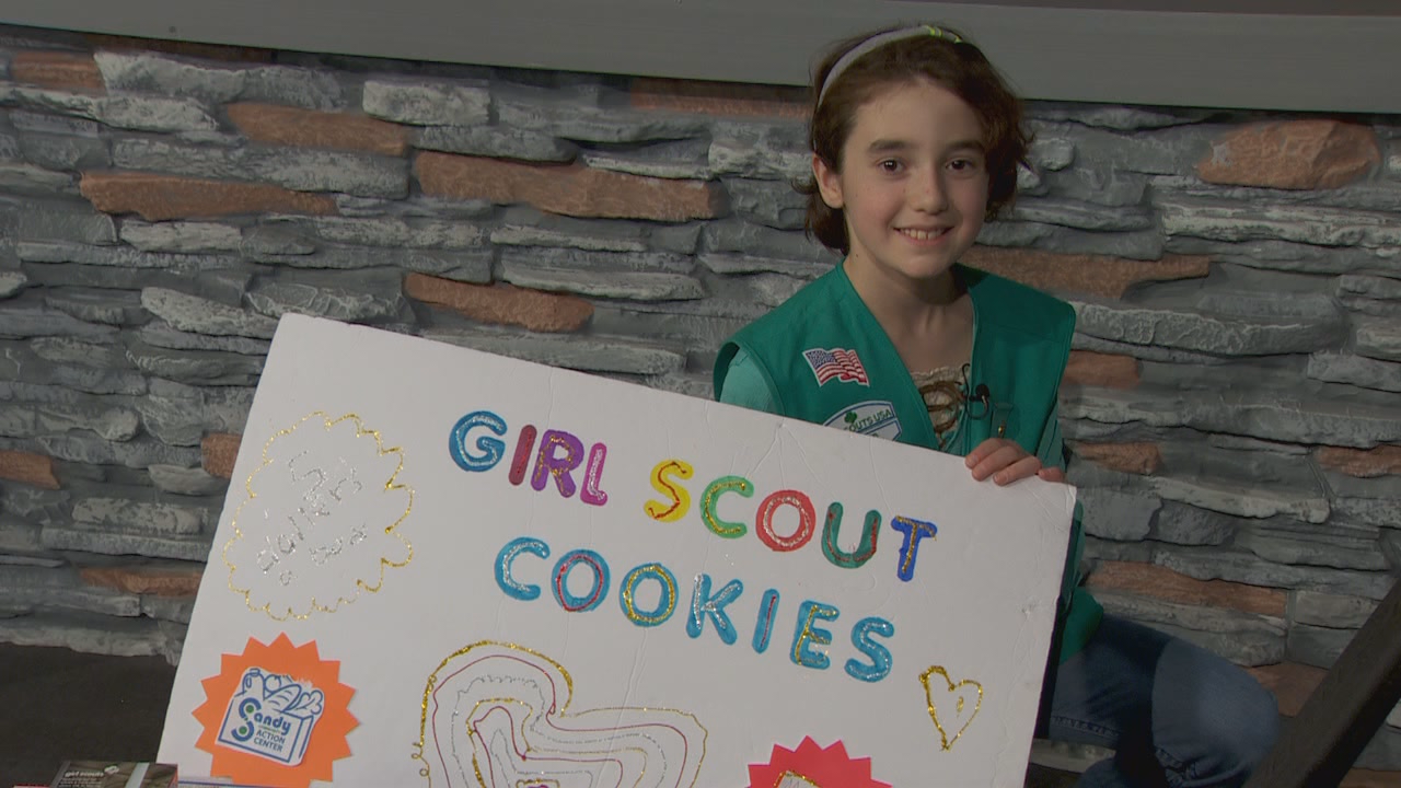 Sidra's idea: Ask people to buy cookies, then donate them to the Sandy Community Action Center.