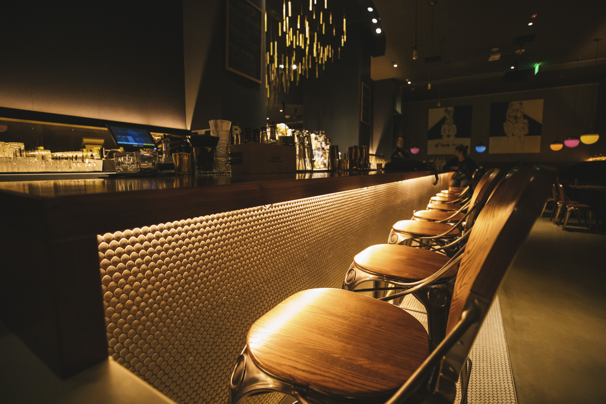 "Welcome to{&nbsp;}<a  href=""https://www.civilityandunrest.com/"" target=""_blank"" title=""https://www.civilityandunrest.com/"">Civility & Unrest</a>, a speakeasy in Bellevue. You can find this secretive little bar and lounge through the W Hotel valet entrance, under the stairs and to the left of the iPhone. Very specific, I know.{&nbsp;}<a  href=""https://www.civilityandunrest.com/"" target=""_blank"" title=""https://www.civilityandunrest.com/"">Civility & Unrest</a>{&nbsp;}is ""inspired by the cocktail culture and underground speakeasies of a bygone era."" The bar showcases the finest in world-renowned vintage spirits, local craft distillers, flowing Champagne and sparkling selections and local micro brews. You can start your evening by beginning beginning ""with a level of Civility,""and when your inhibitions have left the building, venture over to Unrest. (Image: Sunita Martini / Seattle Refined).{&nbsp;}"