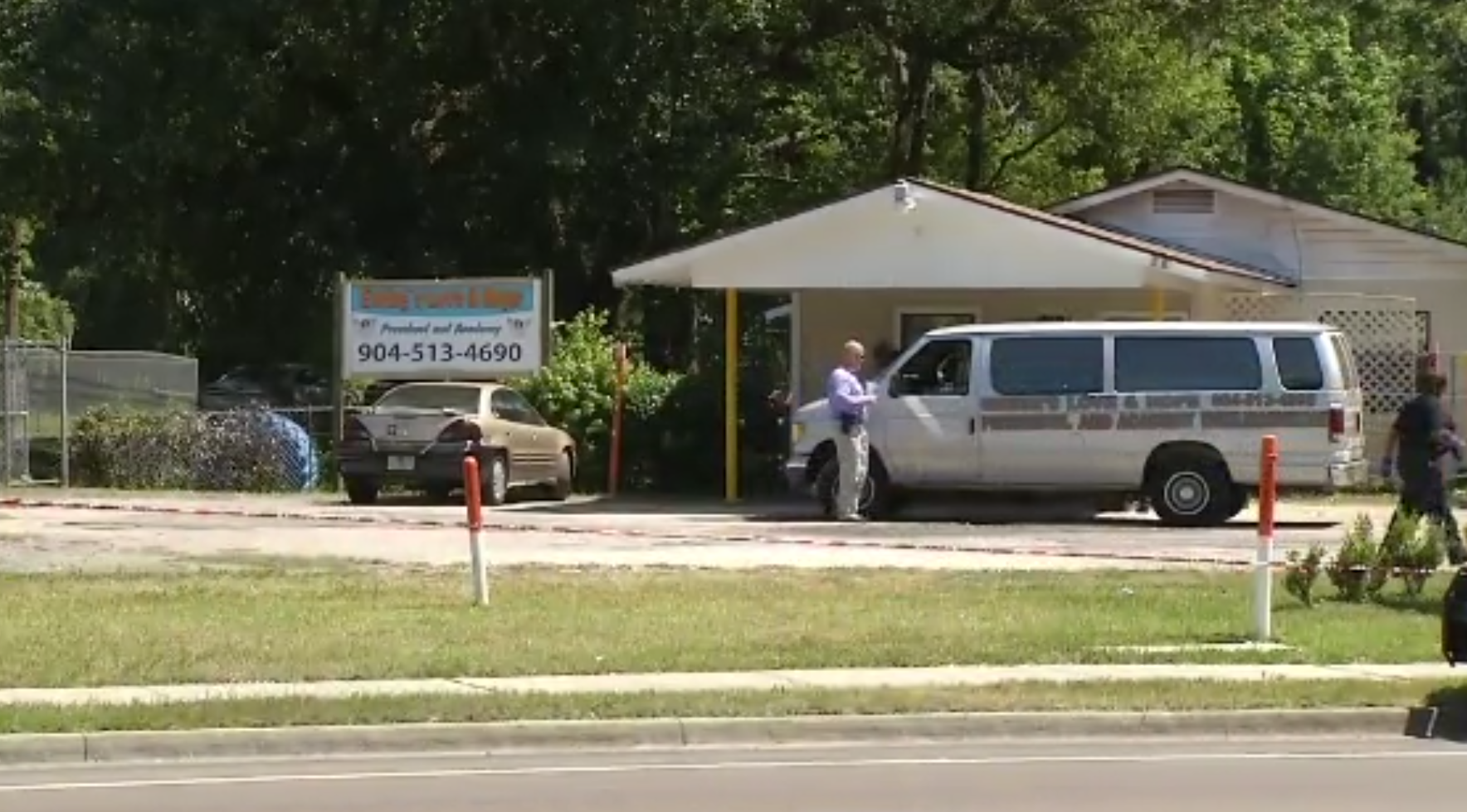 Sheriff: Baby girl dies after 5 hours in Jacksonville daycare van (CNN Newsource)