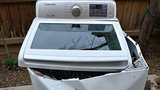 A California family's warning; Samsung washing machine explosion