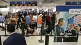 Holiday air travelers get a break from long security lines