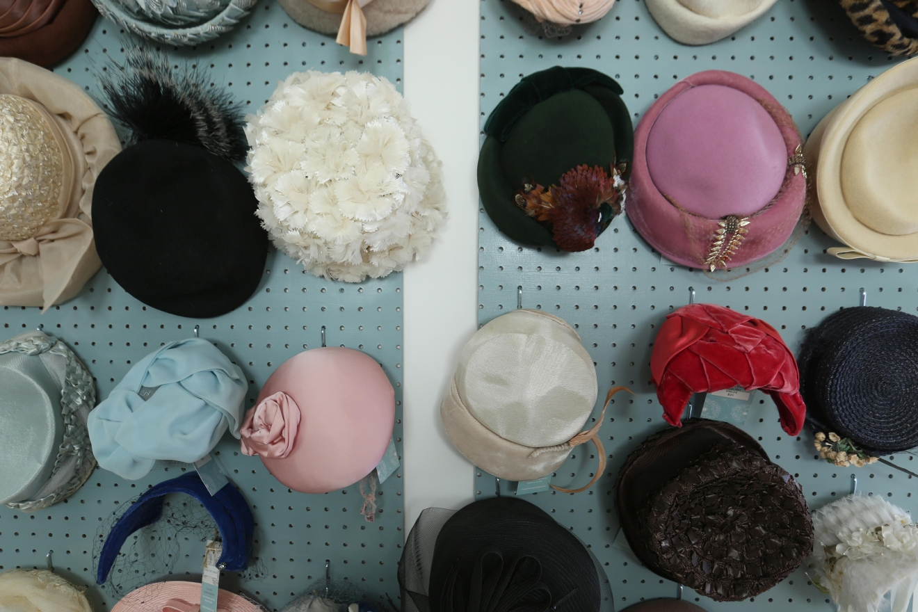 With racing season around the corner, check out the vintage hats too!(Amanda Andrade-Rhoades/DC Refined)