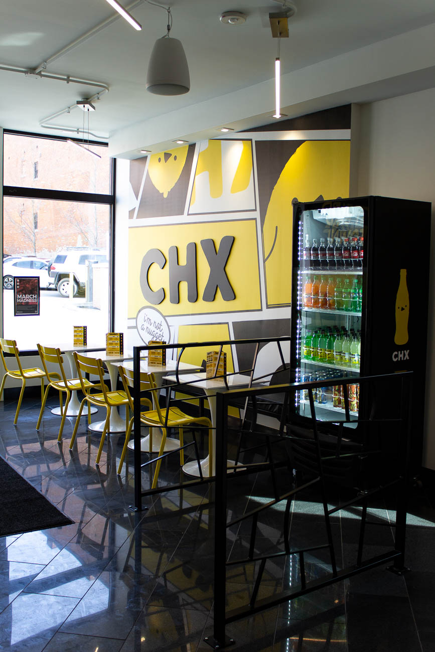 "The restaurant is pronounced ""chicks,"" not C-H-X, FYI. / Image: Katie Robinson, Cincinnati Refined // Published: 4.8.19"