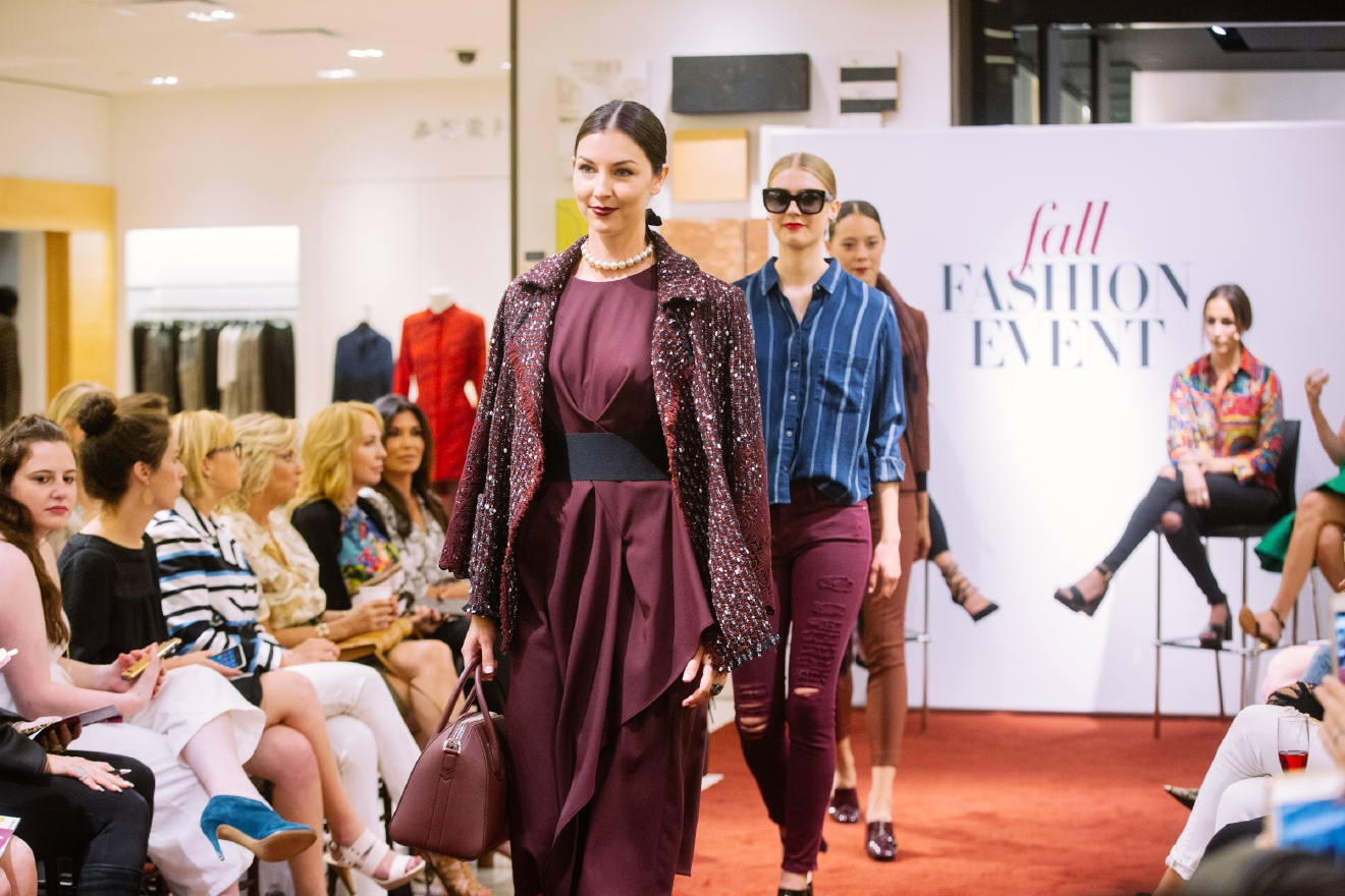 Not everyone can shop at Neiman, but everyone can definitely be inspired! We attended a fall trend event this week during which fashion professionals showed us styles to play around with this fall. Click on to see skirts with movement, the cranberry go-to color everyone will be wearing and the perfect amount of subtle sparkle. (Image: Joshua Lewis / Seattle Refined)