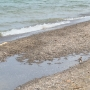 Parts of Durand Eastman Beach swallowed by Lake Ontario