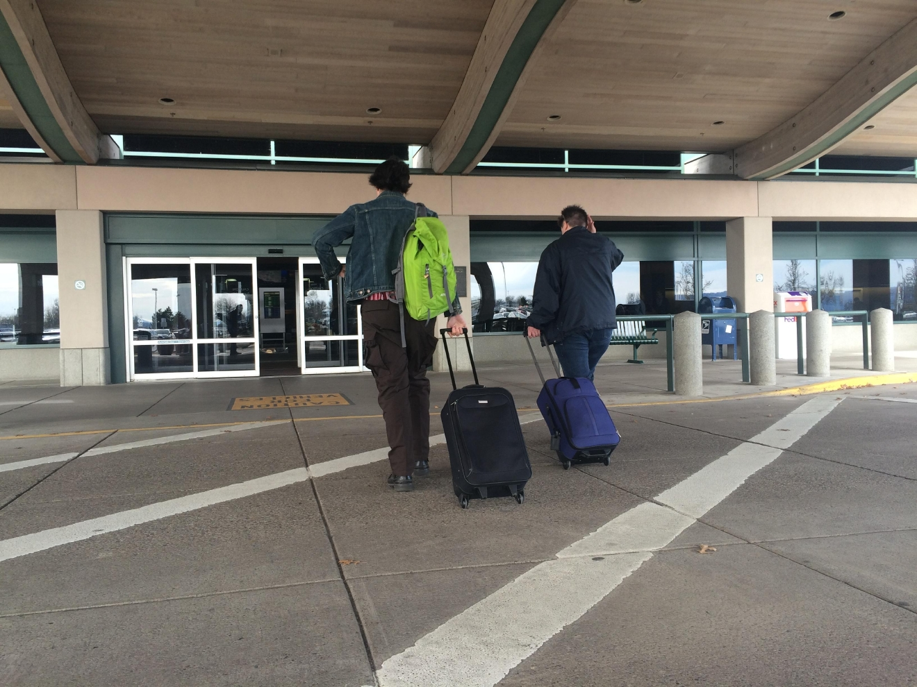 The Eugene Airport has seen increases in traffic in recent years. (SBG photo)