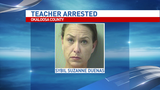 Baker teacher charged with child abuse