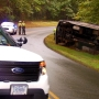 Overturned RV closes section of Blue Ridge Parkway