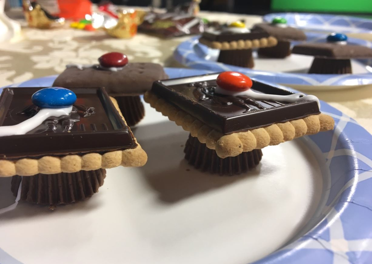 Graduation Cap Candies made on Whip Up Your Weekend. (Erin MacPherson/WPDE)