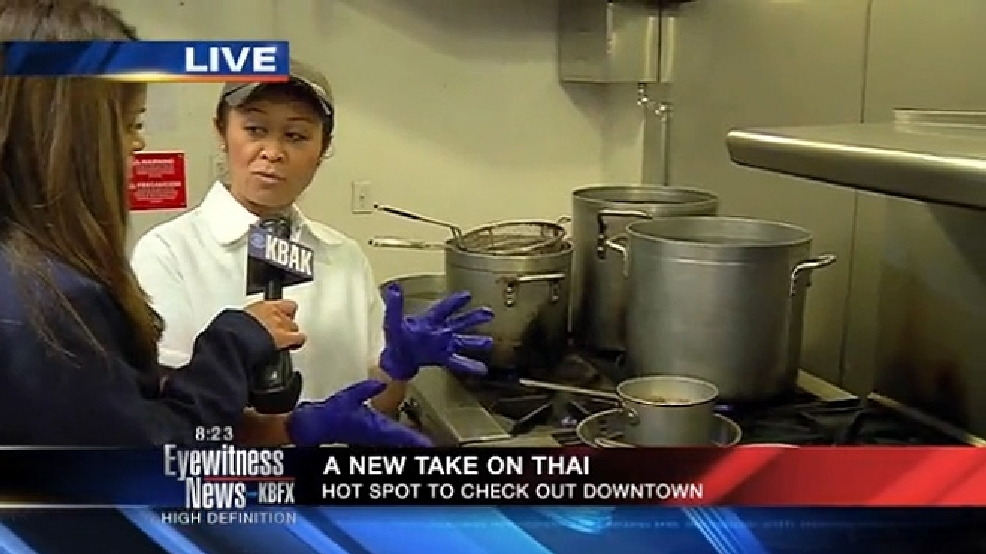 Eyewitness News morning show live at Thai restaurant | KBAK