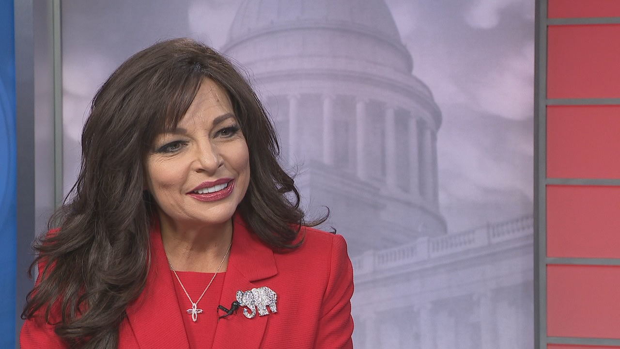 Jan Morgan tells KATV she's going to work on shrinking the size of government because that's what conservatives do unlike Gov. Hutchinson, who she calls an establishment progressive, spending way too much money.<p></p>
