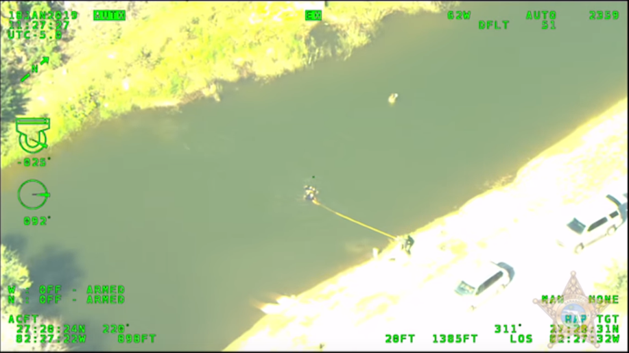 Man jumped into lake while fleeing from deputies, but didn't know how to swim (Sarasota County Sheriff's Office){ }