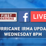 WATCH: Join ABC15's Ed Piotrowski LIVE at 8 p.m. for the latest on Hurricane Irma