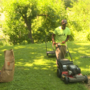 Alabama man combines raising good men and mowing lawns